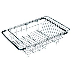 Satin stainless basket