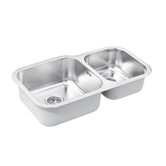 Moen double bowl stainless steel sink