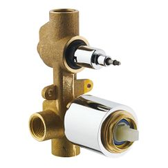 one handle in wall shower only valve